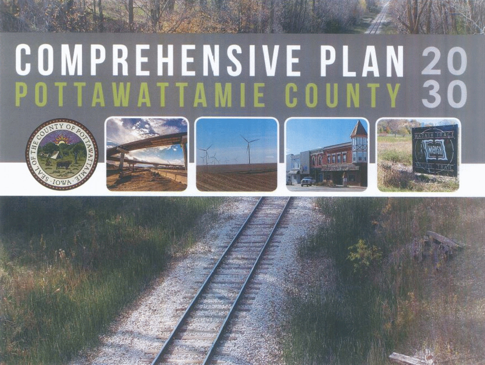 Cover of the Comprehensive Plan for Pottawattamie County 2015-2030